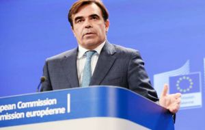 "EC spokesman Margaritis Schinas gave a dry response, ""There are elections everywhere, that's quite natural. Elections are good. We are in favour, in general"""