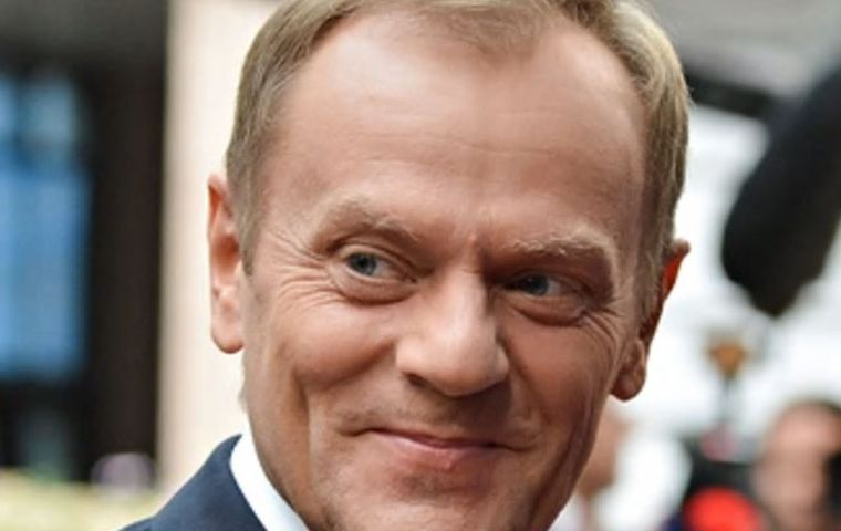 "Most official EU reactions were non-committal. European Council President Donald Tusk, indicated that they had a ""good phone call"""