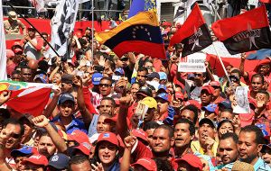 Thousands of Maduro's opponents are expected to turn out in the capital Wednesday to pressure his administration to respect the assembly's autonomy