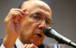 """The economy will likely get to the end of this year with a meaningful growth rate,"" Finance Minister Henrique Meirelles said in a speech during an event in Brasilia"