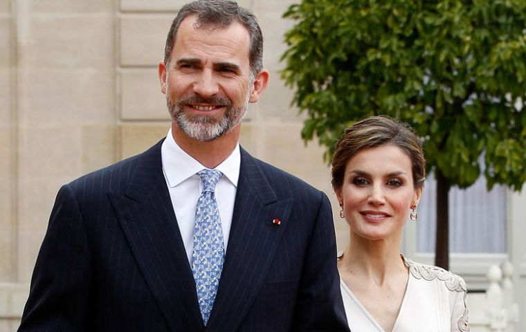 Downing Street confirmed King Felipe VI will visit Britain along with Queen Letizia of Spain from June 6 to 8, as the campaign reaches its climax.