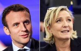 Provided Macron and Le Pen do make it to the second round, the former economy minister was projected to win with 65% against 35% for Le Pen