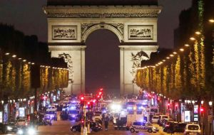The poll was conducted on Wednesday and Thursday before a shootout on Paris' Champs Elysees that left a police officer dead and was claimed by the Islamic State.