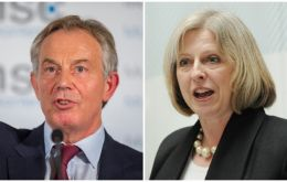 "Blair said polls suggested PM Theresa May's Conservatives were on course for a landslide victory and he ""wasn't totally sure"" what Labor's position was on Brexit."