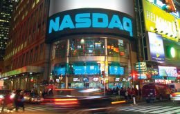 All three main US share markets jumped more than 1%, with the tech-heavy Nasdaq index closing at a record high.