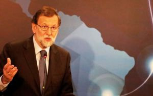 "Rajoy said an accord is ""closer than ever"" and highlighted opportunities for Spanish investment in Brazil's infrastructure, energy and transportation sectors."