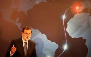 Spanish PM Mariano Rajoy said the venture to build the first subsea fiber optic cable linking Europe to Brazil should help improve data security and privacy