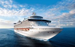 The sentence imposed on Princess Cruise Lines by US District Judge Patricia Seitz is for illegally dumping oil-contaminated waste overboard and falsifying official logs
