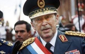 Paraguay was controlled by military ruler General Alfredo Stroessner who seized power in a coup, from 1954 until 1989.