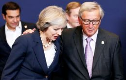 """President Juncker and Prime Minister May discussed the Article 50 process ahead of his participation in the European Council on April 29"", said an EC release"