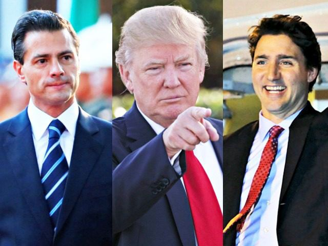 Trump opts to renegotiate nafta agreement talks to pea nieto and late this afternoon president donald j trump spoke with both president pea nieto of mexico and prime minister trudeau of canada platinumwayz