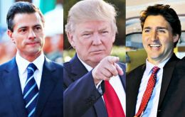 """Late this afternoon, President Donald J. Trump spoke with both President Peña Nieto of Mexico and Prime Minister Trudeau of Canada."