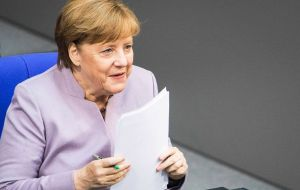 "Mr Tusk's letter - calling for a ""phased"" approach to Brexit - echoed German Chancellor Angela Merkel's priorities, which she set out on Thursday."