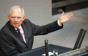 Meanwhile, German Finance Minister Wolfgang Schaeuble said the UK would not have advantages over 27 EU members once Brexit negotiations were concluded.