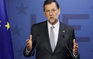 "Speaking after the EU summit, Mariano Rajoy said it was ""plainly obvious"" that the EU would include Spain's Gibraltar veto in its negotiating guidelines."