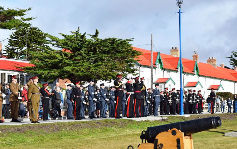 Queen Elizabeth II Birthday parade held at Victory Green (Pic J. Aldridge)