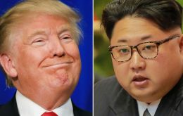 "On Sunday Trump described Mr Kim as a ""pretty smart cookie"". The comments come amid escalating tensions over North Korea's nuclear program."