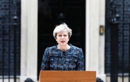The prime minister spoke outside of 10 Downing Street, marking the dissolution of Parliament and officially kicking off the election campaign.