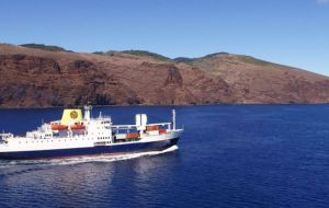 RMS St Helena after concluding successfully sea trials, is scheduled to begin loading operations in Cape Town before departing for the Island