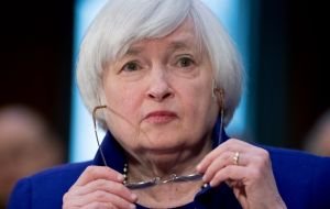The Committee chaired by Janet Yellen views the slowing in growth during the first quarter as likely to be transitory