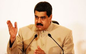 """I see congress shaking in its boots before a constitutional convention,"" Maduro said, referring to the opposition-controlled National Assembly"