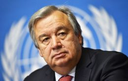 """We need leaders to defend a free media. To counter prevailing misinformation. And we need everyone to stand for our right to truth"", António Guterres said"