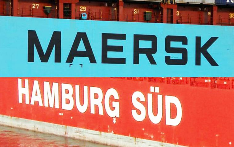 Maersk estimates that combined the two companies will be able to realize annual operational savings of US$ 350/400 million during the first two years