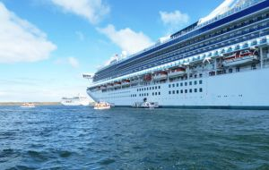 Two thirds of all passengers arrived on just three vessels, the Zaandam, Crown Princess, and Norwegian Sun.