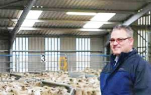 David Roberts said the mild winter and hard work from suppliers meant the majority of stock delivered was in good condition with weights up on last year.