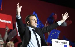 Macron a year ago was a member of the government of one the most unpopular French presidents in history. Now, at 39, he has won France's presidential election