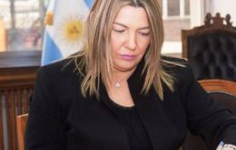 "Governor Bertone signed Decree 1188/17 and Bill 1154 making ""Malvinas March"" as the official song of Tierra del Fuego, Antarctica and Southern Atlantic Islands province."