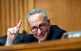 """I told the president, ´Mr President, with all due respect you are making a big mistake,´"" the top Democrat in the Senate, Chuck Schumer, told reporters."