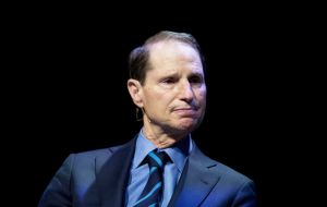 """Trump´s decision to fire him now, in the midst of an investigation into Trump associates and their ties to Russia, is outrageous"" charged Senator Ron Wyden"