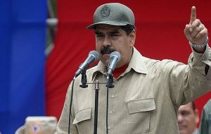 President Nicolas Maduro says the health crisis is caused by medicines being hoarded to encourage a coup against him.
