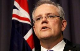 Morrison said $6.2bn would be raised over four years by the new levy on big five: ANZ Bank, Westpac, National Australia Bank, Commonwealth, and Macquarie.