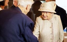 The Queen met Commander Keith Evans, the oldest (known) living Old Pangbournian
