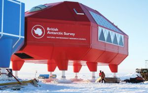 BAS Halley will not winter this year for safety reasons. Located on the floating Brunt Ice Shelf it will shut down until November 2017, because of a new ice crack