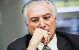 Temer said the coalition will only put the pension reform to the vote when it has guaranteed support of between 320/330 lawmakers to clear the 308 votes needed