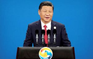The summit was opened by president Xi Jinping who called to reject protectionism, embrace open markets, as part of a major intense cooperation plan