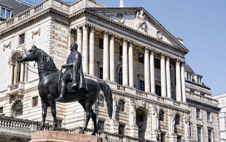 Last week, the Bank of England warned that inflation as measured by the Consumer Prices Index (CPI) would peak at just below 3% this year.