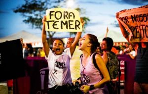 Protests were planned in several cities and opposition politicians took to Twitter and local news channels to call for Temer to be impeached