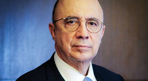 Finance minister Henrique Meirelles ex central banker and ex JBS chair of the board has been named as a possible successor to Temer