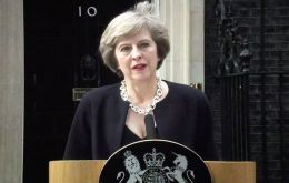 "PM May said the incident is being treated by the police as ""an appalling terrorist attack"". Paramedics reported having treated wounded for ""shrapnel-like injuries""."