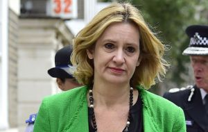 """The operation is still at full tilt,"" Home Secretary Amber Rudd said, adding that some suspects could remain at large."