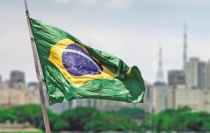 Stronger global economic activity has so far mitigated the effects on the Brazilian economy of possible changes of economic policy in central economies