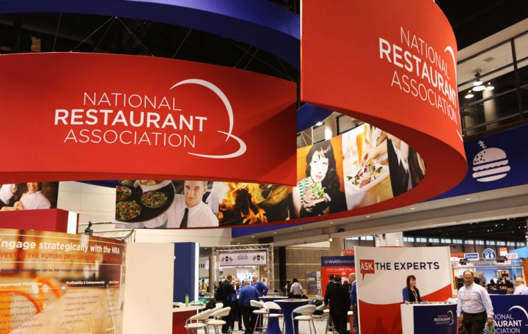 The show in Chicago is an essential destination for over 45,000 buyers representing the USA's burgeoning food service sector.