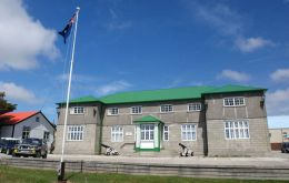 Falkland Islands Governement - Secretariat building
