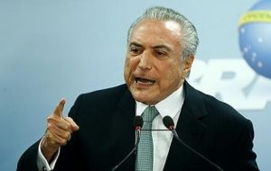 Temer has repeatedly denied any involvement in the bribery scandal, and argued that Rocha Loures could be the victim of a trap.