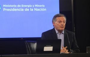 Aranguren revealed that the same group of companies is already considering a future investment near the current deposits, in an area identified as Phoenix