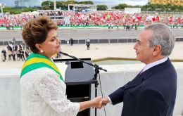 TSE case alleges reelection victory in 2014 of president Dilma Rousseff and her then vice president Temer was fatally tainted by illegal campaign funds